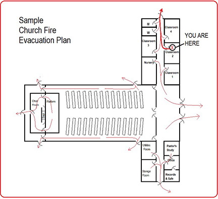 Sample Church Fire Evacuation Plan